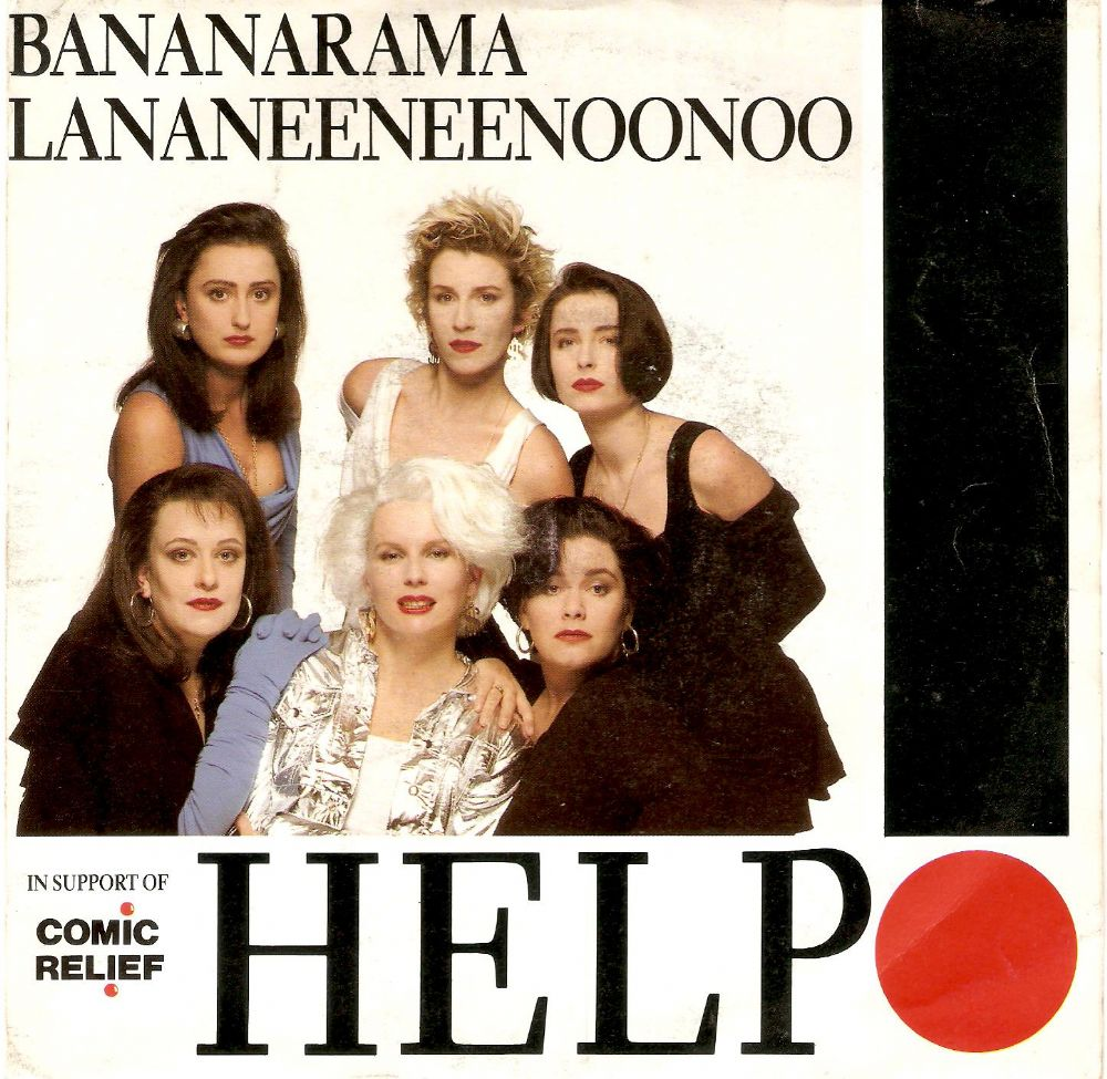 BANANARAMA Help Vinyl Record 7 Inch French London 1989